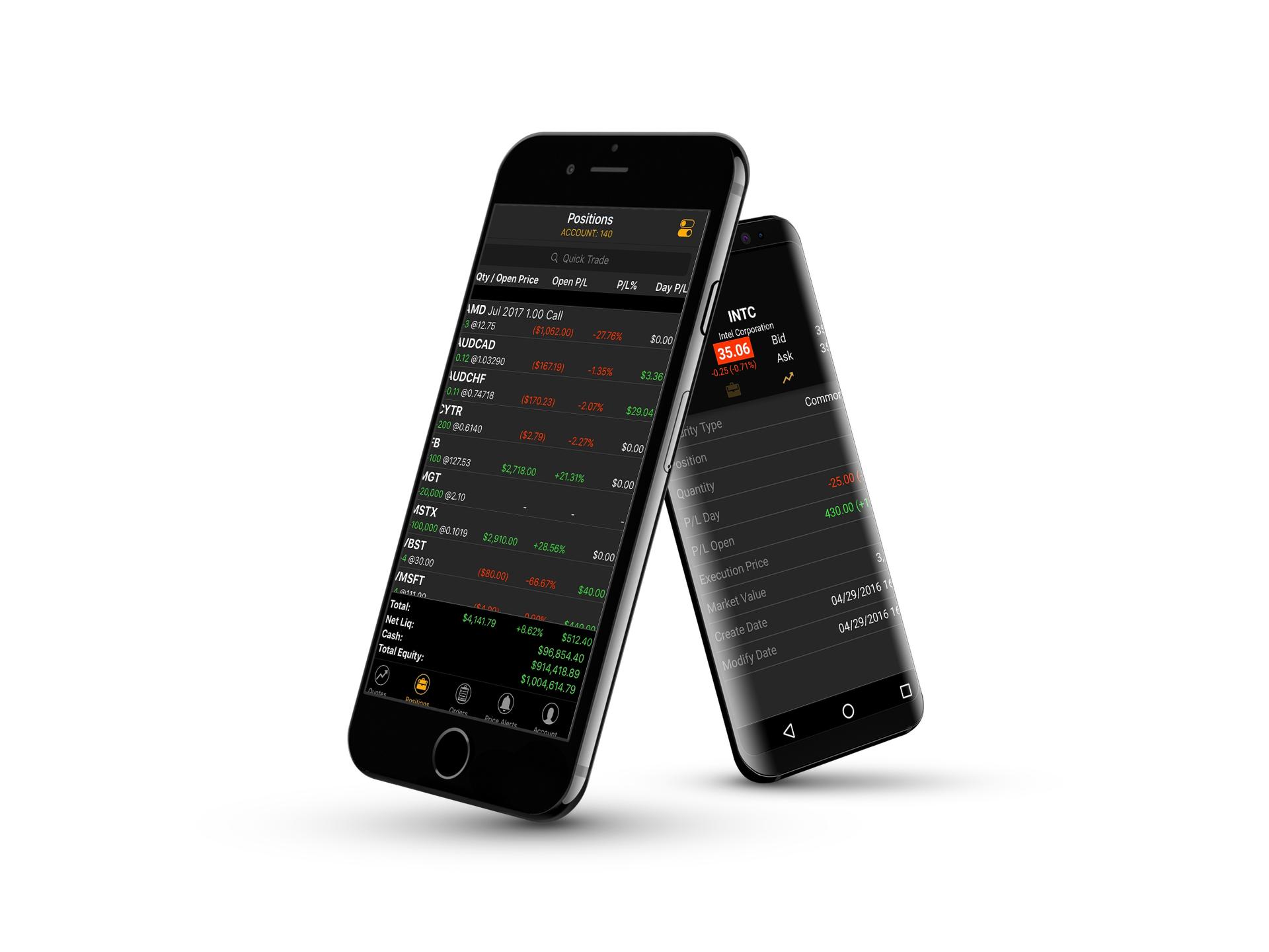 Mobile Trading Terminal